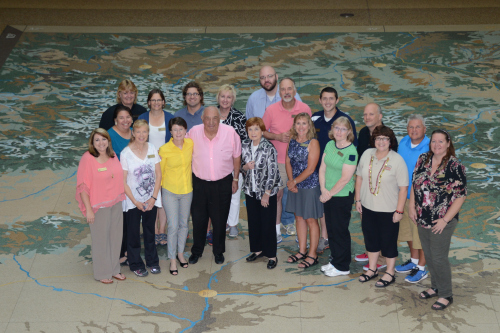 Kenneth and Patricia Behring with Behring Teacher Ambassadors in Denver. Photo courtesy of Moni Hourt from Nebraska